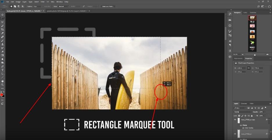 селекции във Photoshop