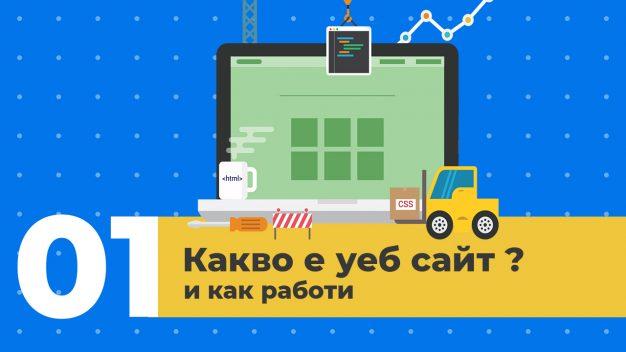 Урок 1 – Какво е уеб сайт и как работи?