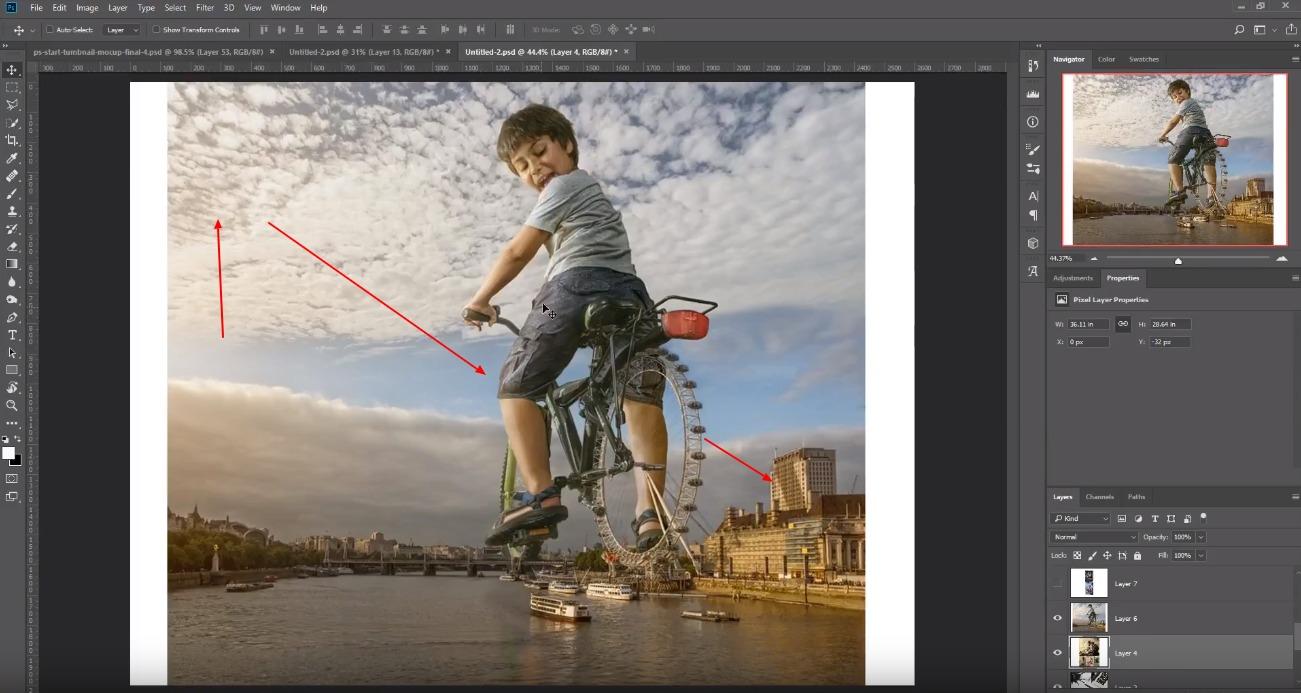 Photoshop за фото манипулации